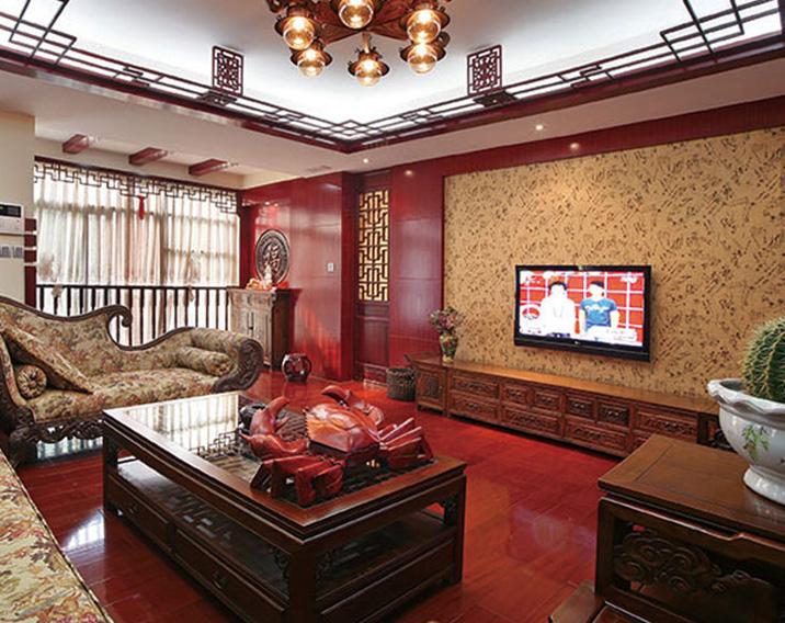 客厅整体家具-006