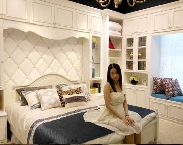 卧室整体家具-008
